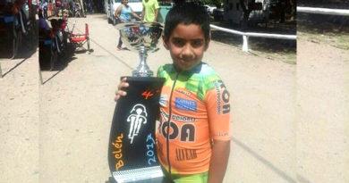 ciclista alvearense premiado en Catamarca