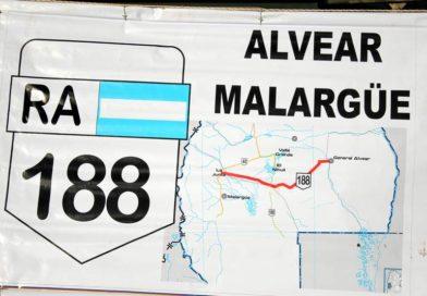 Confirman la suspensión de obras en la Ruta 188