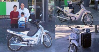 entrega ciclomotor