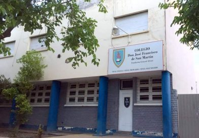 Suspenden las clases en el colegio San Martín