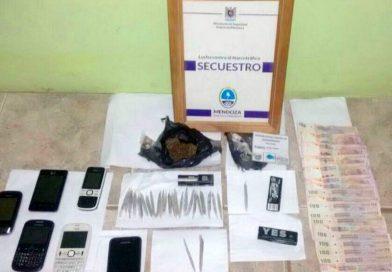 Dos detenidos en allanamientos por droga en Alvear