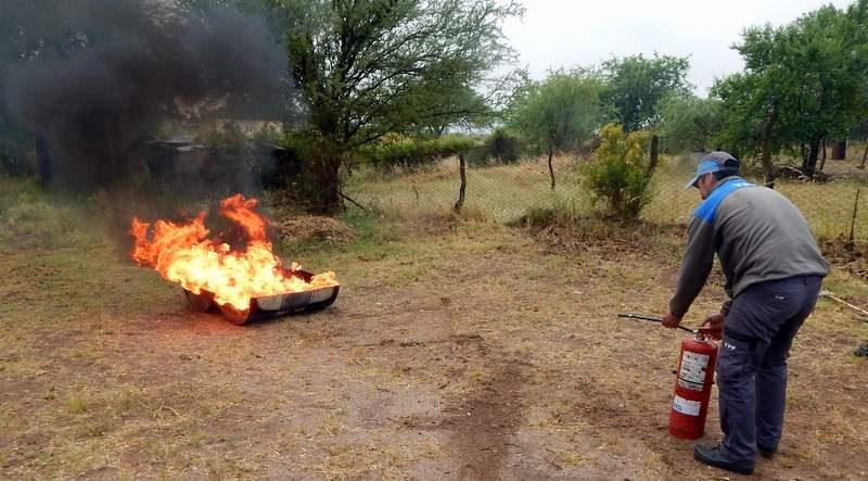 Simulacro incendio Canalejas