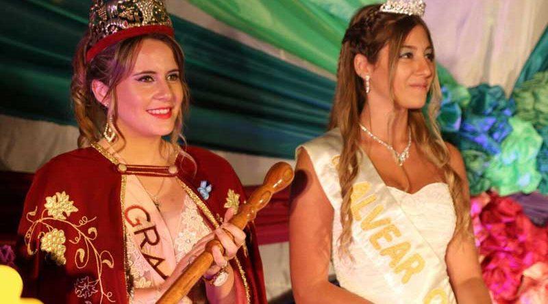 Alvear Oeste coronó a la primera reina vendimial