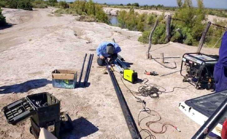 Instalan sensores de caudal en el Atuel mendocino y pampeano