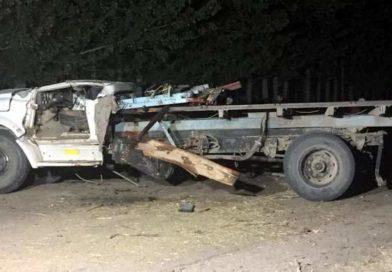 El chofer de un camión falleció tras un choque en calle 10
