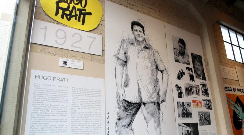 Alvear se viste de Historieta, el Corto Maltés en Faraón