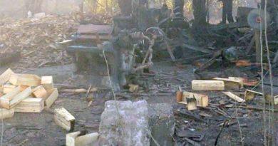 Un incendio consumió parte de un aserradero