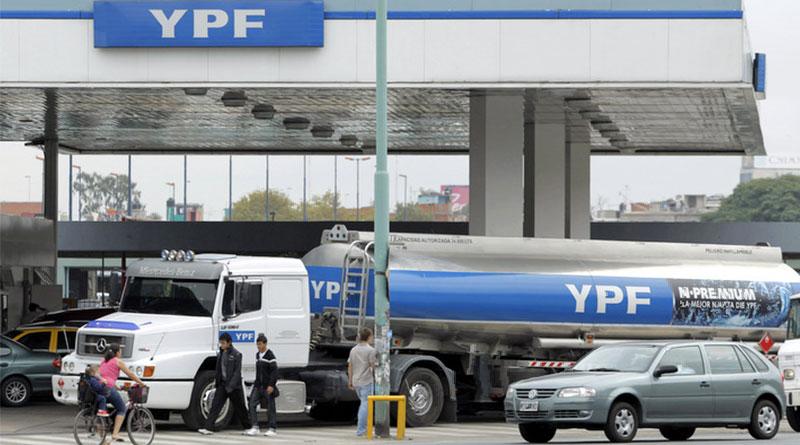 YPF aumentó sus naftas