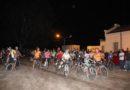 Bicicleteada nocturna en el aniversario de Carmensa