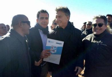 Le piden a Macri la construcción de la ruta Alvear-Malargue