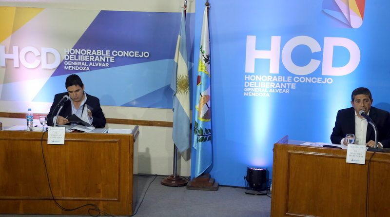 Marcolini y González debatieron sus propuestas en el Concejo Deliberante