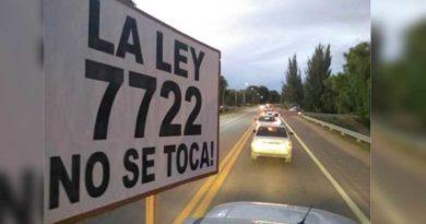ley 7722
