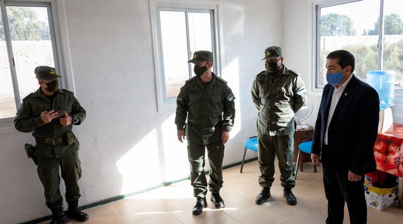Gendarmería ya tiene el inmueble para instalarse en Alvear