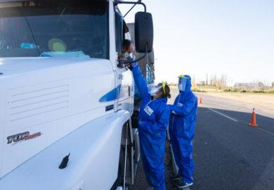 Refuerzan controles a transportistas por el Covid-19