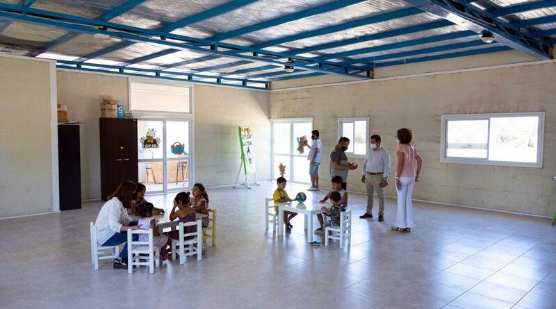 Aula satélite en el Zangrandi que funcionará como Jardín Maternal